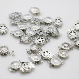 10 UNIDS 12 * 4.6mm Hot Snap Button al por mayor Accesorio de Metal Plateado para Collar Pulsera Mecanizado de piezas de Fabricación de Joyas desde fabricantes