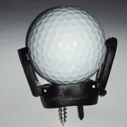 Wholesale New Pick Up Tools - Wholesale- New Mini Rubber Golf Ball Pick Up Putter Grip Retriever Tool Suction Cup Pickup Screw Golf training Aids Black