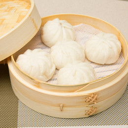 Wholesale Wholesale Bread Loaf Pans - Silicone Steamer Cushion 22cm White Round Eco Friendly Steamed Stuffed Bun Bread Pad Household Dumpling Mat Kitchen Tool 1 06jh F