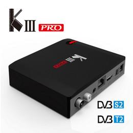 Deutschland MECOOL KIII PRO DVB-T2 S2 Fernsehkasten S912 3G 16G 802.11AC WIFI Bluetooth 1000 M LAN Media Player Versorgung