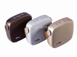 Wholesale Small High Speakers - High Quality Eurobird NFC FM Radio Bluetooth Speaker Desktop Bluetooth 4.1 Speaker Portable Intelligent Universal Small Audio HiFi Subwoofer