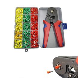 Wholesale Ferrule Kit - 990pc Tube Ends Terminals Assortment Kit Ferrule Terminals Crimper Crimping Tool