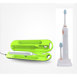 Wholesale Toothbrush Holder Sterilizer - best buyer Oral care Acoustic Wave Electric Toothbrush with free Toothbrush Cleaner Toothpaste Holder Sterilizer Device