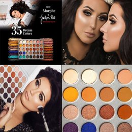 Wholesale Factory Direct Kits - Factory Direct Brand Makeup Eyeshadow 35 dream colors Eye shadow Palette The JaclYn Hill Palette Eye Shadow Kit