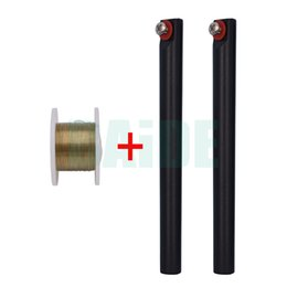 Wholesale Glass Separator - 100M Golden Molybdenum Wire Cutting line with handle For Iphone 4 4s 5 Samsung S4 S3 Glass LCD Screen Separator 300set lot