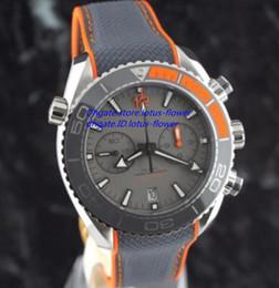 Wholesale Chronometer Quartz - Top Mens Chronograph VK Quartz Watch Men Chronometer Master 600m Co Axial Swiss Watches Men Dive Sport Date Professional 007 Wristwatches