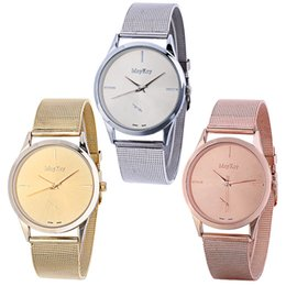 Wholesale Pink Designer Watches Women - Luxury Designer Women mesh super thin watches fashion pink gold silver quartz wristwatches Dress ladies Famous Brand watch Relogio Feminino