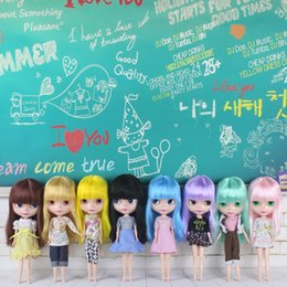 Wholesale Blythe Dolls - blythe Free Shipping Top discount Basaak plastic DIY Blyth Cheapest item limited gift