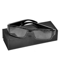 Wholesale Portable Lcd Dvr - 32GB 1080P HD Covert Eyewear Camera Video Eyeglass DVR Mini DV Video Recorder Portable Glasses Camcorder Without Pinhole