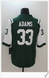 Wholesale Vintage Shirts Xxl - #33 Jamal Adams New Color Rush Style American College Football Stitched Uniforms Vintage Shirts Embroidery Elite Mens Sport Pro Team Jerseys