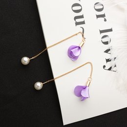 Wholesale Mother Pearl Flower Buttons - Wholesale Snap earring pearl jewelry Fit 18-20mm Star Style Snaps Buttons For Women Diy Jewelry HX044