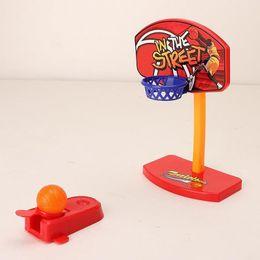 Wholesale Desktop Basketball - Selling Children 's Finger Basketball Hand - Eye Co - ordination Mini Desktop Ejection Game Sports free shipping