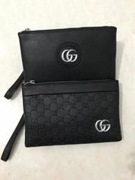 Wholesale Casual Dress Short Long - Best quality 2017 Male Genuine Leather luxury wallet Casual Short designer Card holder pocket Fashion Purse wallets for men #123