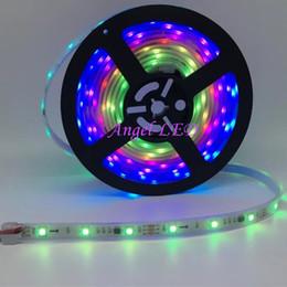Wholesale Rgb Ip67 - DC 12V 30leds m 150leds 2811 RGB Flexible LED Strip Light 5050 SMD RGB IP67 IP20 addressable RGB color DIY ws2811 led pixel tape ribbon