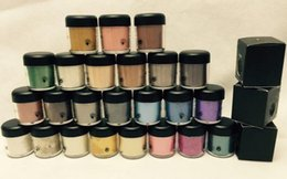 Wholesale English Pigment - 24 PCS FREE SHIPPING good quality Lowest Best-Selling Newest product 7.5g pigment Eyeshadow English Name and number & gift