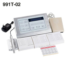 Wholesale Digital Permanent Makeup Tattoo - Digital New 991T-02 Multifunction Kit Professional Tattoo & Permanent Makeup Rotary Machine Kit Fast Shipping