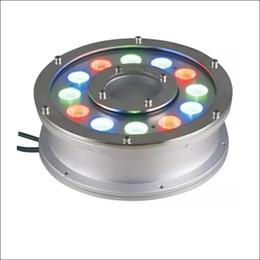 2019 éclairage sous-marin pour piscines Éclairage à LED RGB Éclairage extérieur sous-marin à LED pour lampe de paysage IP68 piscine bassin éclairage sous-marin pour piscines pas cher