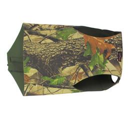 Wholesale Dog Clothes Winter Vest - Tourbon Dog Vest Coat Waistcoat Camo Pet Clothes Neoprene Parka XL Size Hunting