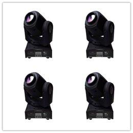 Wholesale American Dj Moving Head - 4PCS lot MINI 10W RGBW 4 in 1 LED SPOT beam Moving Head American DJ Disco Event Light