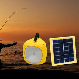 Wholesale Solar Lantern Phone Charger - 1.5Watt Solar panel LED Camping Lamp Rechargeable Outdoor Portable Lanterns USB charger Phone Outdoor Gear Solar Lighting YK-S62