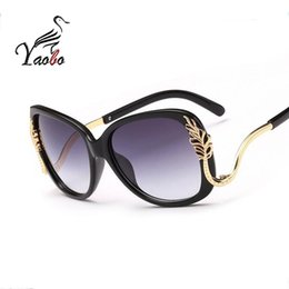Wholesale Popular Eyewear Quality - Yaobo Brand Design Butterfly Vintage Eyewear Sunglasses Women Most Popular Good Quality Sun Glasses Female UV400