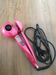 Wholesale Hair Equipment Wholesale - OEM Styler Hair Salon Equipment with CE and RoHS Certification Tourmaline Material szjunfong LCD Mag Curler Hair