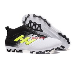 Wholesale Popular Soccer - 2017 New Popular ACE 17.3 PRIMEMESH Soccer Youth Men Shoes Original High Quality Football Boots Sport Running Footwear 39-45 Free Shipping