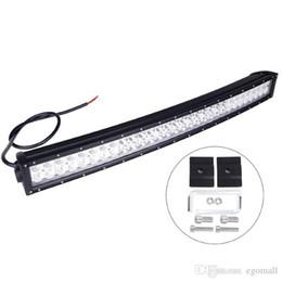 lumières 4x4 super brillantes Promotion 33inch 180 W Super lumineux LED hors barre de lumière de route Cree Courbe de travail LED courbée Spot faisceau d'inondation ffroad camion 4x4 ATV lampe