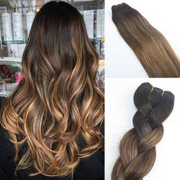 Rabatt Ombre Braune Haare Weben 2019 Brasilianisches Haar Ombre