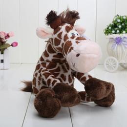 Wholesale Cute Animals Videos - NICI Wild Friends cute giraffe plush doll stuffed animals toys 25CM