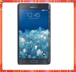 Оригинальный Samsung Galaxy Note 4 Edge N915A N915T N915P N915V N915F разблокированный сотовый телефон 3 ГБ/32 ГБ 5,6-дюймовый сенсорный 16-мегапиксельный восстановленный телефон от