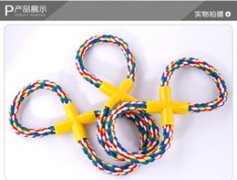 Wholesale Large Rope Balls - Random Delivery! Durable Rope Braided Ball Dog Chew Toys Puppy Cotton Chewing Ball Bone Knot Indestructible Dog Toys for Pet Dog