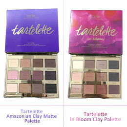 Wholesale Retail Link Dropshiping best Tartelette in Bloom Clay Palette Colors Eye Shadow By Tarte High Performance Naturals