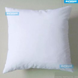 Wholesale Wholesale White Pillows - (30pcs lot)Plain Off White Color Pure Cotton Canvas Pillow Cover With Hidden Zipper For Custom DIY Print Blank Cotton Pillow Cover Any Color