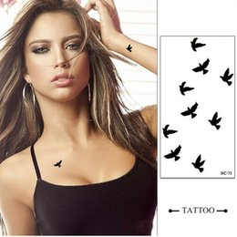 Wholesale Temporary Tattoos For Men Waterproof - 2017 NEW 85 Styles Temporary Tattoo Tatoo For Man Weman Waterproof Stickers makeup make up The pigeon of peace tattoo ZA2316
