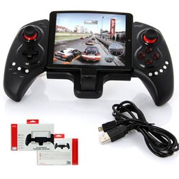 2019 controladores de juegos bluetooth android Ipega PG-9023 Controlador inalámbrico de juegos Bluetooth Joystick Gamepad para iPhone iPod iPad Sistema iOS Samsung Tableta Android controladores de juegos bluetooth android baratos
