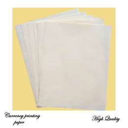 8.5in* 11 in anti-counterfeiting printinng paper high quality 75% cotton 25% linen waterproof types 216*279mm paper