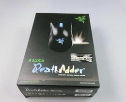 Wholesale High Quality Gaming Mouse - 2017New Razer Death Adder Mouse High Quality Gaming Mouse 3500DPI Optical Wired Mouse free shipping epacket
