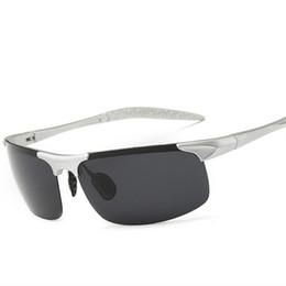 Wholesale Men Sunglasses Night - Wholesale-2016 Polarized Sunglasses Men Famous Brand UV400 Driving Anti-glare Sun Glasses Driver Outdoor Sports Day Night Vison Glasses