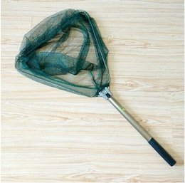 Wholesale Landing Nets - Wholesale- 1.6M Foldable Folding Fishing Landing Net Tackle Excellent Quality Fishing Net tool