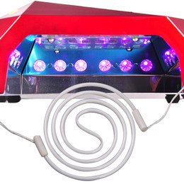 Wholesale Led Tube For Nails - Wholesale- Professional Nail Art Tools Spiral Tube 12W UV CCFL Repair Replacement for 36W CCFL Led UV Lamp Nail Dryer
