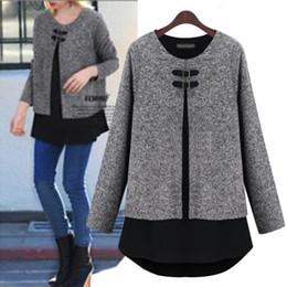 Wholesale Maternity Coat Pregnant - New Winter & Spring Pregnant women jacket winter clothes large size Korean fashion sweater coat maternity woolen coat shirt