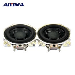 Wholesale Speakers Series - Wholesale- AIYIMA 2pcs 2Inch 10W 12Ohm Parallel Connection 6 ohm Series Connection 24 ohm Neodymium Full Range DIY Dual Voice Coil Speaker