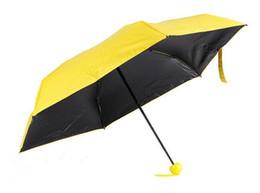 Wholesale Umbrella Men - Hot Mini Pocket Umbrella Clear Men Umbrella Windproof Folding Umbrellas Women Compact Rain Umbrella