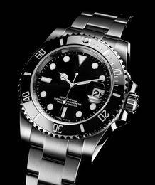 Wholesale Ceramic Round Watch - Top sale Mens watch high quality automatic watches for men wristwatch ceramic bezel sapphire glass Original clasp