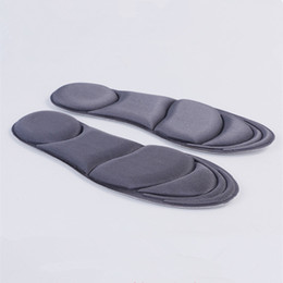 fußpolster Rabatt 4D langsame Rebound Einlegesohle atmungsaktive Schweiß Deodorant Fußpolster Deodorant weiche Dämpfung langsam Rebound Massage Einlegesohlen