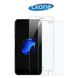 Wholesale iphone 5c tempered glass - Best For iPhone X 5 5S 5C 6 6P 6S 6SP 7 7P 8 8P Screen Protector Film Tempered Glass With Retail Box