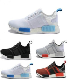 Wholesale Cheap Brands Online - 2017 Cheap Online Wholesale NMD R1 Primeknit Top Quality Shoes NMD Mens Womens Athletic Running Sneaker Shoes Running Brand NMD Boost 5-11