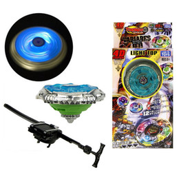 Wholesale Beyblade Fury - Flashing Kids Metal Beyblade Metal Fusion Children Metal Fury Beyblades Set With Launcher Spinning Top Toys Tl06