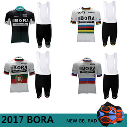 Wholesale Cycling Jersey Set Blue - 2017 Bora Cycling jerseys Ropa Ciclismo Cycling clothing Pro Cycling Jersey Bicycle sets Mountain MTB Bike maillot Ciclismo Maillot 5 Styles